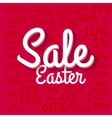 Easter Sale poster Sale poster Holiday sale vector image
