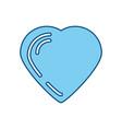 lovely heart symbol vector image