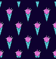 ice-cream pattern colored19 vector image