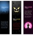halloween banners vector image
