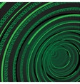 Circle Binary Digits Background vector image