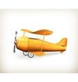 Aircraft icon vector image vector image