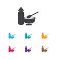 of infant symbol on child food vector image