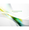Business flowing wave vector image vector image