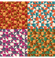 abstract geometric patterns vector image