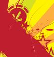 grunge banner design vector image