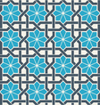 Ornamental seamless pattern abstract background vector image