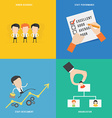 Element of human resource concept icon in flat vector image