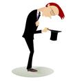 Jobless man vector image
