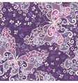 violet seamless pattern vector image vector image