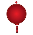 Isolated chinese ornament vector image