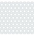 seamless hexagons honeycomb pattern vector image