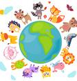 AnimalsWorld vector image