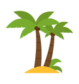 Palm Group vector image