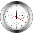world time zone clock vector image