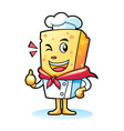 Cheese Mascot Characters vector image