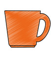 cup coffee isolated icon vector image