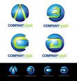 Letter Logo Designs vector image