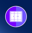 wardrobe icon button logo symbol concept vector image