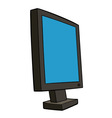 pc monitor vector image vector image