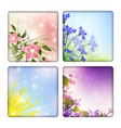 flowers backgrounds vector image