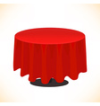 Fancy table design vector image