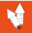 Firework icon design vector image