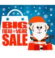 monkey new year big sale background vector image