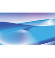 Blue waves background vector image