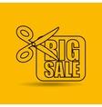 big sale offer discount commerce vector image