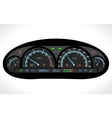 Car Dashboard Isolated vector image