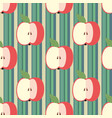 decorative seamless background with stripes and vector image
