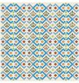 geometric retro background vector image