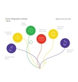 Modern minimalistic mindmap design Useful for vector image