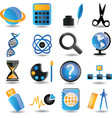 Set of education icons - part 2 vector image