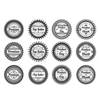 high quality round labels vector image