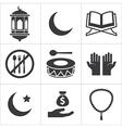 ramadan icon vector image