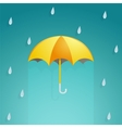 Umbrella cartoon vector image