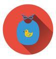 Bib icon vector image