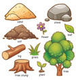 nature element vector image