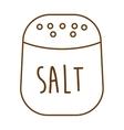 salt ingredient isolated icon vector image