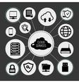 Cloud Services Concept vector image