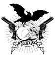 hellraiser vector image