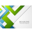 Bright geometric corporate tech background vector image vector image