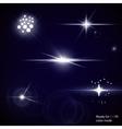 Light Optical Lens Flares vector image