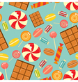sweet seamless vector image