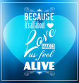 Valentines Day template with stunning hearts vector image vector image