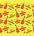 Cinco de mayo seamless pattern mexican holiday vector image