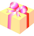 gift box present vector image