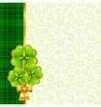 Greeting card for Saint Patricks day vector image